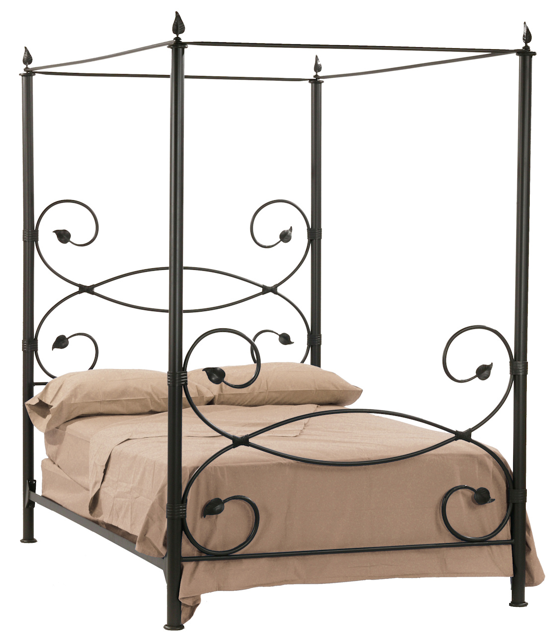 Exquisite Full Canopy Bed - Ashley Furniture HomeStore: Home